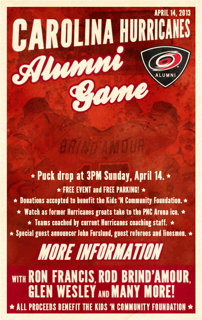 Carolina Hurricanes Alumni Game