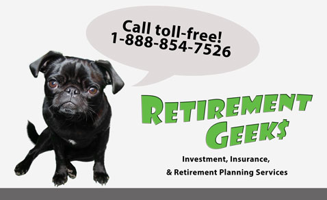 Retirement Geeks - Gwen says, Let's Geek Out on your retirement and financial planning, investments and insurance.